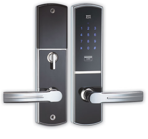 قفل هوشمند درب ضد سرقت - ساختمونی ها
