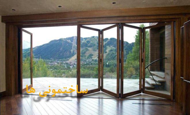 درب کشویی تاشو | ساختمونی ها | درب ساختمان