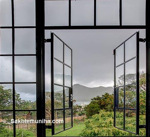 پنجره های فلزی