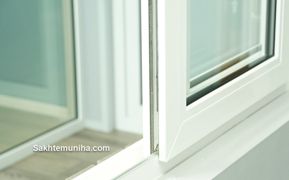 پنجره های PVC و UPVC | ساختمونی ها