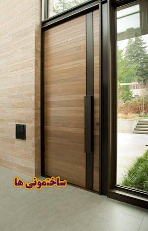 درب هیبریدی ورودی درب ساختمان
