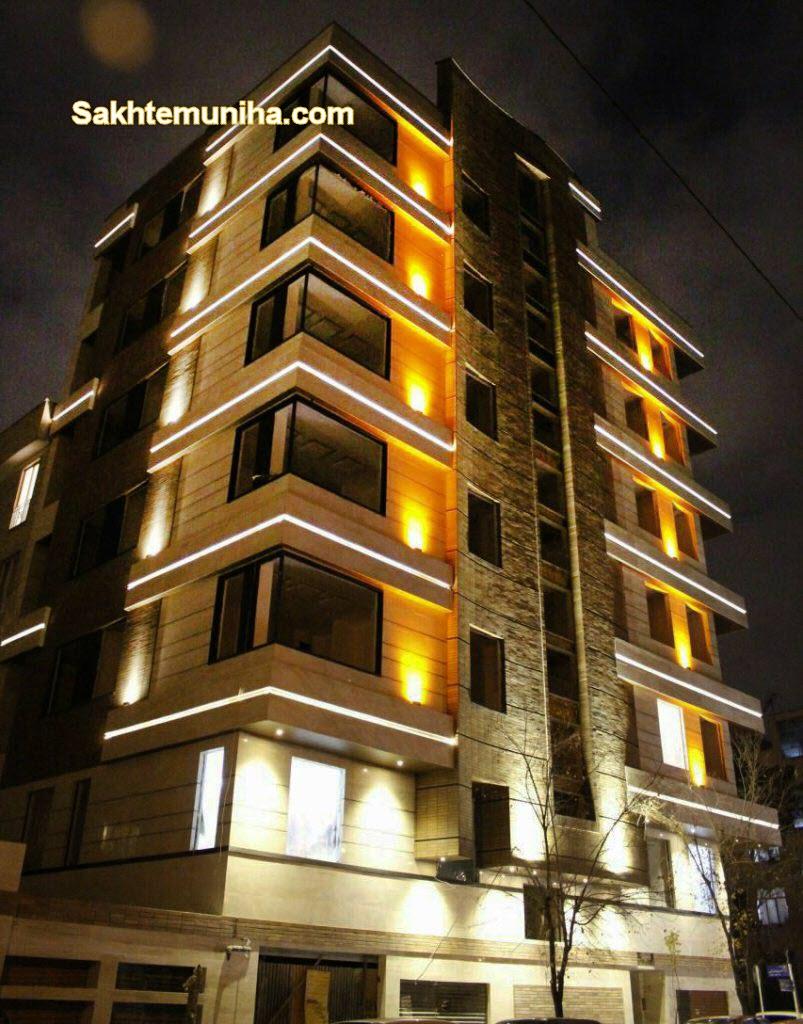 نورپردازی و روشنایی ساختمان | ساختمونی ها